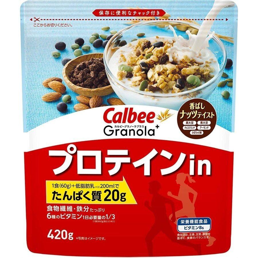 CALBEE Granola Plus in Protein 420g