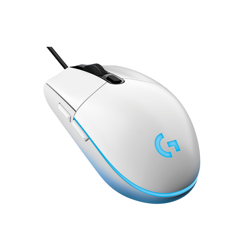 Logitech G102 Wired Gaming Mouse with Lightsync RGB Lighting Max 8000 DPI Gaming Grade-Sensor Logitech G Hub Gaming Software Support
