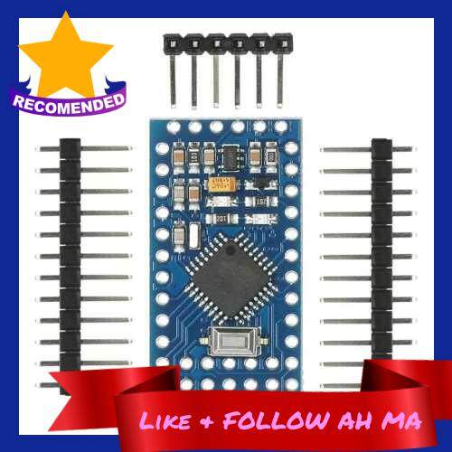 Best Selling 5pcs Pro Mini ATmega328P 5V 16MHz Micro Controller Board Module for Arduino with Pin Headers (Standard)