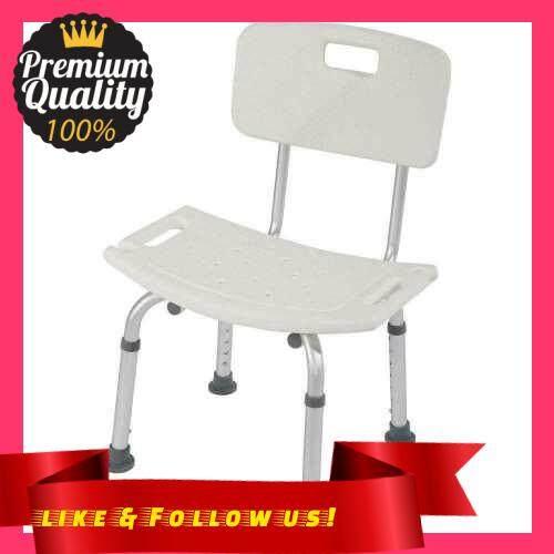 People\'s Choice Adjustable Height Elderly Bath Tub Shower Chair Bench Stool Seat Non-slip (2)