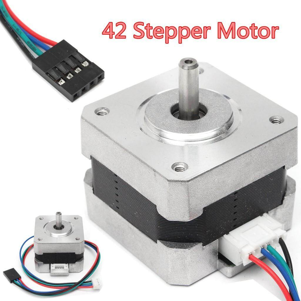 Moto Spare Parts - 42 Stepper Motor 500RPM 1.3A 5MM Round Shaft For 3D Printer Engraving Machine - Motorcycles, & Accessories