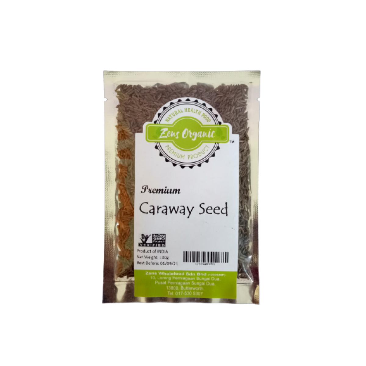 Zens Organic Premium Caraway Seed 30g (Product Of India)