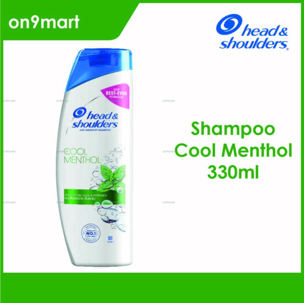 Head & Shoulders Cool Menthol Anti Dandruff Shampoo 330ml