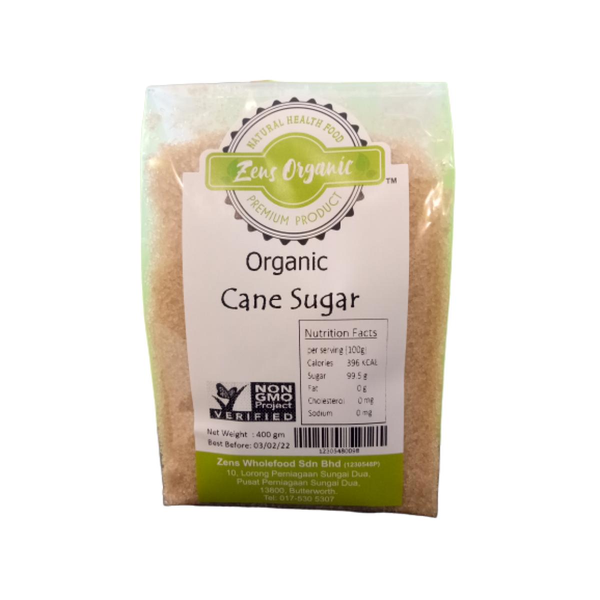 Zens Organic Cane Sugar 400g
