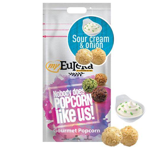 Eureka Sour Cream with Onion Popcorn Snack (Aluminium Pack)
