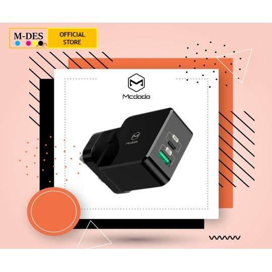 ORIGINAL Mcdodo 30W PD + QC Dual USB Wall Charger CH6930
