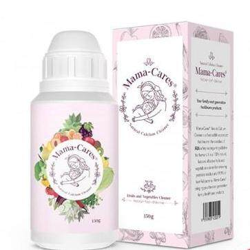 Mama-Cares Natural Food & Vege Wash - Twin Pack