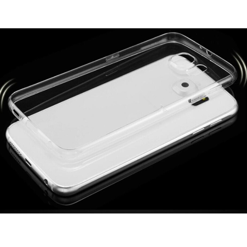 ULTRA Thin Transparent Soft TPU Case Cover For Samsung Galaxy S7 S6 Edge Plus - FOR S7 / FOR S7 EDGE / FOR S6 EDGE / FOR S6 EDGE PLUS