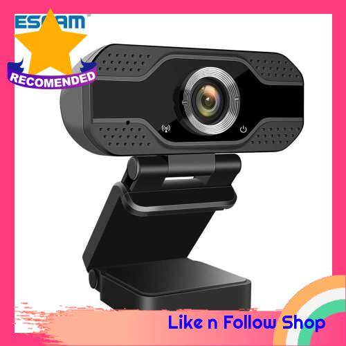 Webcam with Microphone HD 1080P Computer USB Webcams for Desktop Laptop PC Camera Streaming Webcam for Gaming/Video Calling/Recording/Conferencing (Standard)