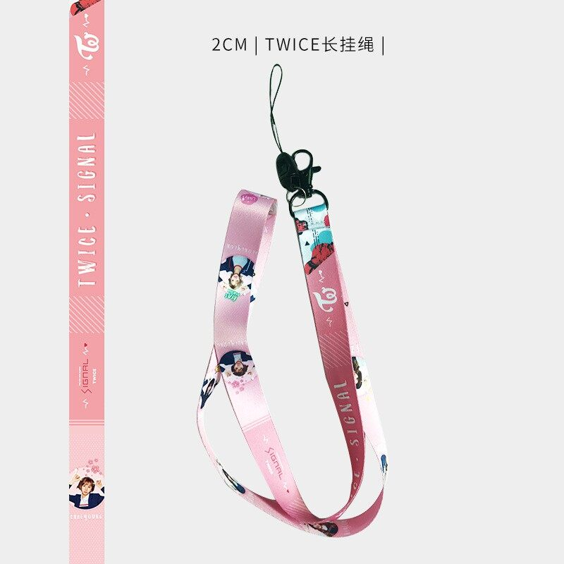 45CM KPOP BTS Blackpink BT21 TWICE Phone Cover Lanyard Keychain Phone Strap Holder - WIDE 2CM-BTS / WIDE 2CM-BT21 / WIDE 2CM-BLACKPINK / WIDE 2CM-TWICE / WIDE 2.5CM-BTS / WIDE 2.5CM-BT21 / WIDE 2.5CM-BLACKPINK / WIDE 2.5CM-TWICE