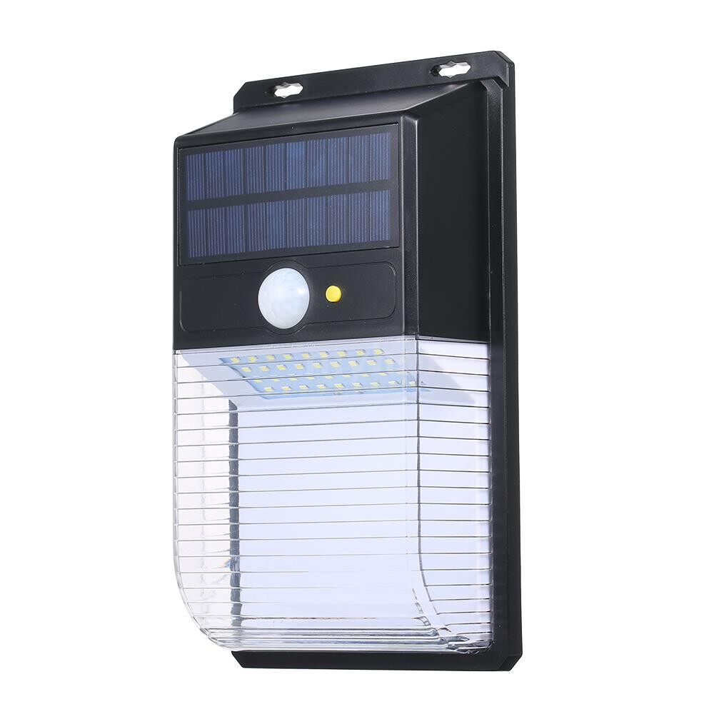 Outdoor Lighting - 36 LEDs Solar Wall Light Bright Lighting PIR Motion Sensor Night Lamp IP65 Waterproof Mounting - #