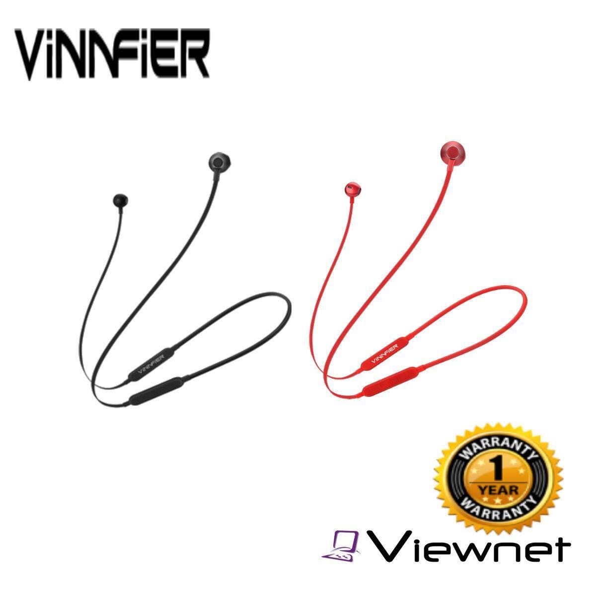 Vinnfier Sporta 5 Pro Wireless Bluetooth Sport Earphone(Black/Red)