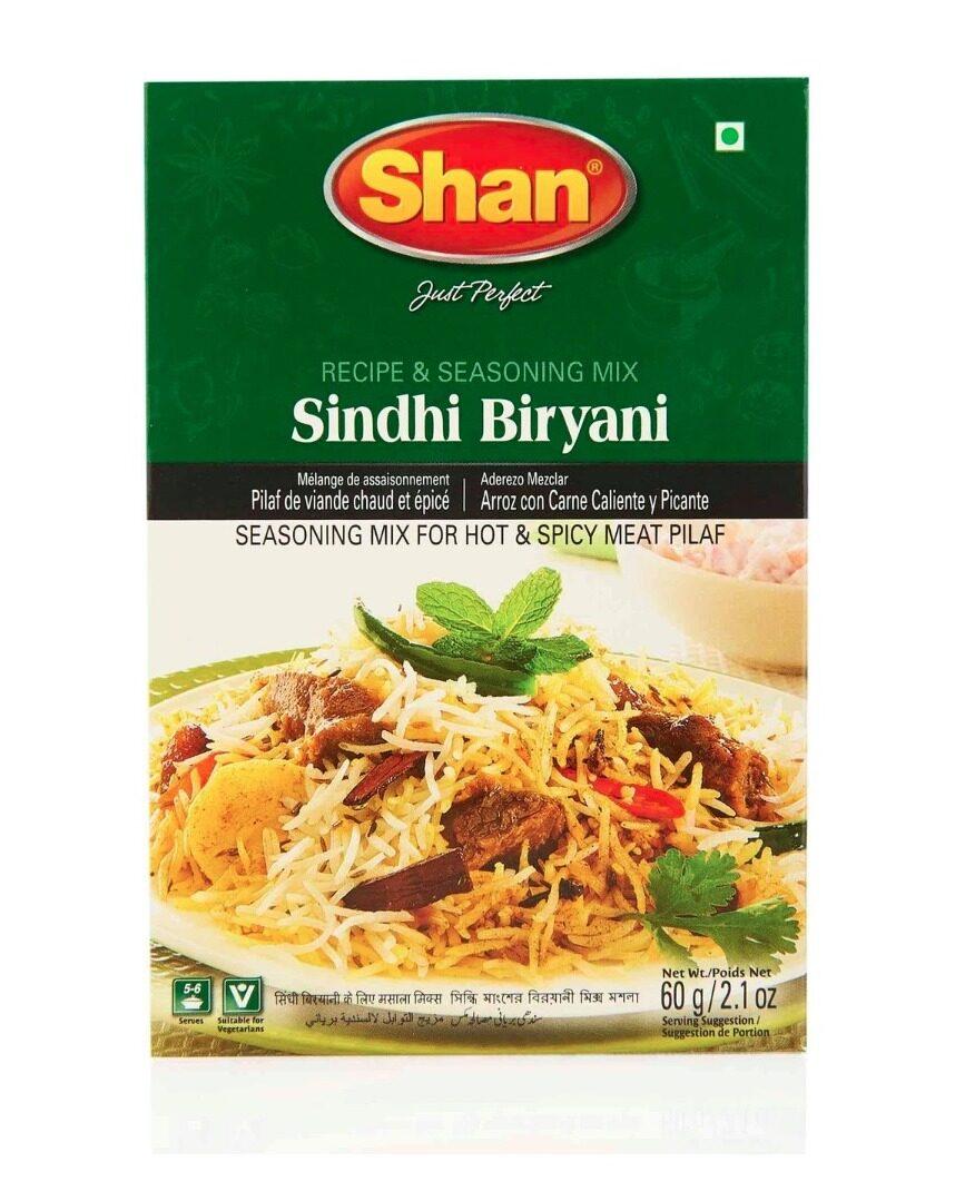 SHAN SINDHI BIRYANI MASALA – 60 GM
