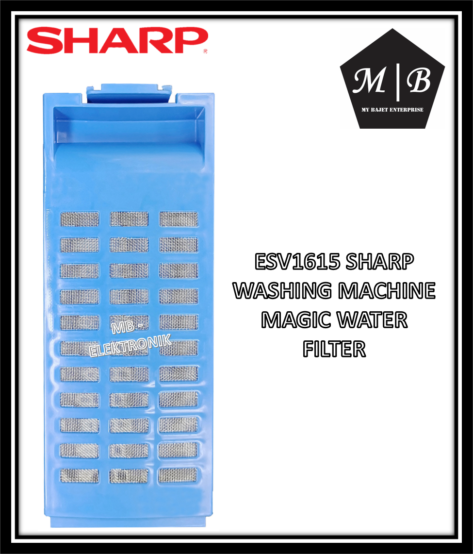 {ORIGINAL} {1 PCS} SHARP WASHING MACHINE MAGIC WATER FILTER ESV1215 ESV1415 ESV1615