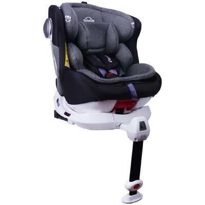 Quinton: OneSpin 360 Convertible Car Seat - GREY
