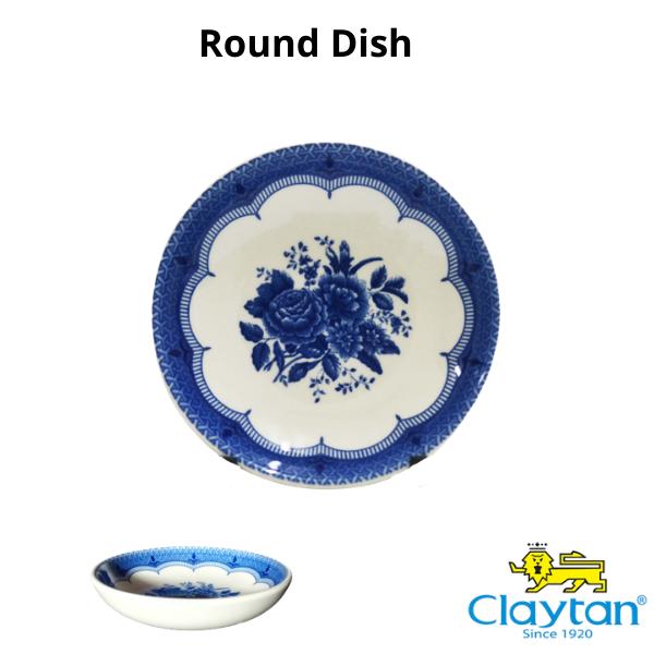 Claytan Tableware- Oriental Ceramic- 403BS Victoria Blue- Claytan