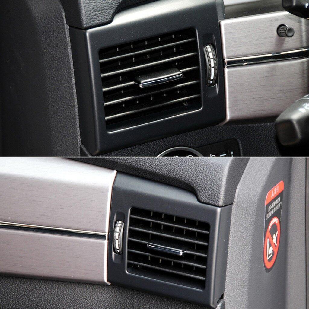Car Replacement Parts - Front Black Air Conditioning Vent Paddle Fits Benz W204 C260 C300 - Automotive