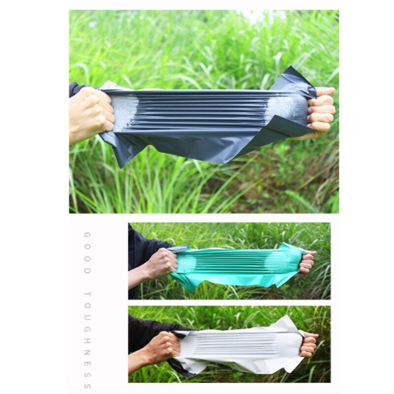 Best Selling [ LOCAL READY STOCK BEST PRICE] 100pcs 17cm X 35cm Water Proof Courier Plastic Bag Flyer Black Beg Kurier Pos Hitam Postage Parcel Bag Consignment Plastic Bag With Strong Sticker Sealing Logistic Shipping Water Resistant