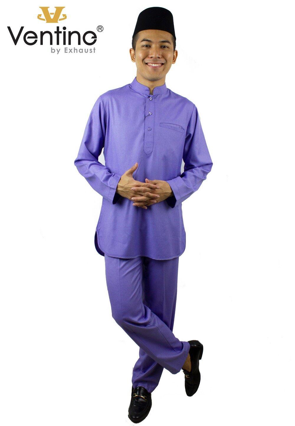 Ventine Baju Melayu Modern-SLIM FIT  V4500-BMMFC(S)S-3XL