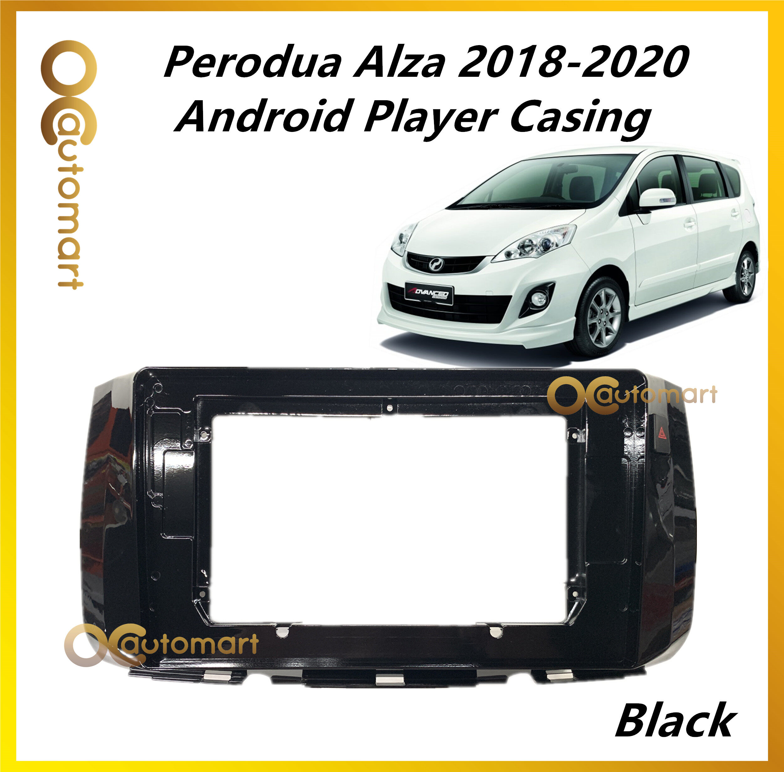 Andriod Player Casing For Perodua Alza 2018 - 2020 With Double Signal Switch
