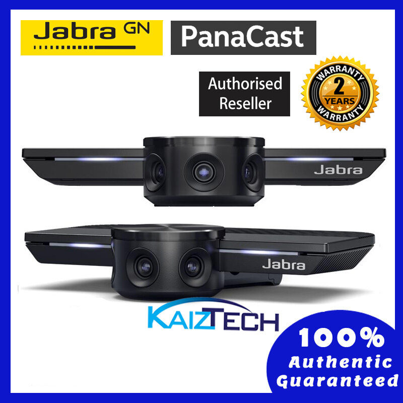 Jabra Panacast World's First Intelligent 180 Panaromic- 4K Video Conferencing Camera Webcam Conference Camera