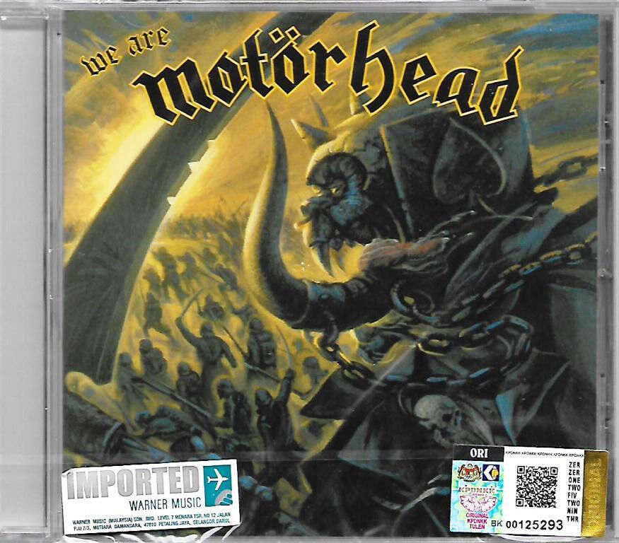 Motorhead - We Are Motorhead Imported CD Heavy Metal Music