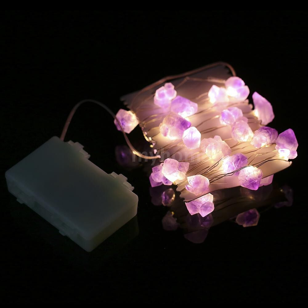 Lighting - 30 LEDs Fairy String Light 3m/10ft Battery Operated with Remote Control Timer Function Twinkle - TYPE 2 / TYPE 1