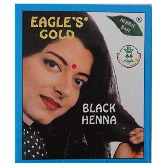 Eagle's Gold Black Henna Inai Hair Colour