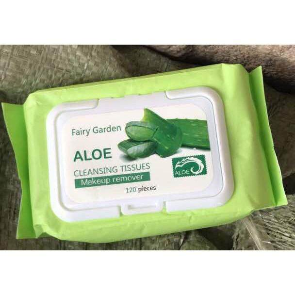 FREE GIFTTISSUE ALOEVERA MAKEUP REMOVER 120PIECES/PACK (READY STOCK)