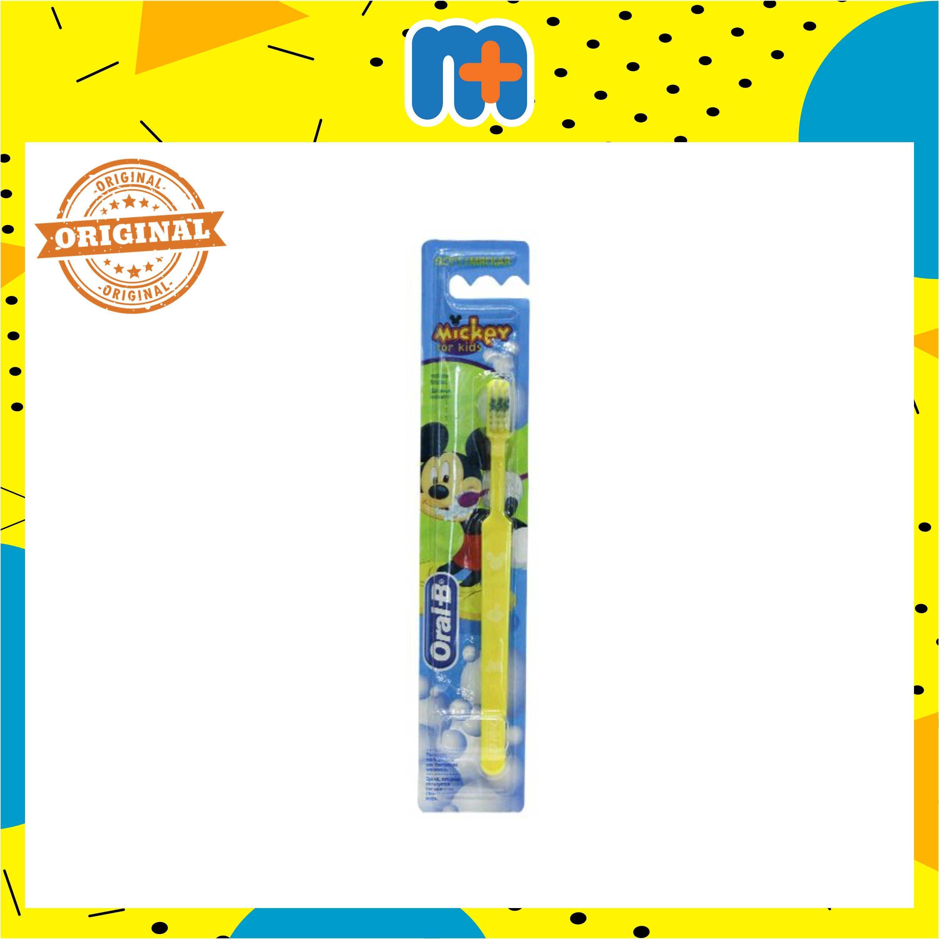 [MPLUS] ORAL B MICKEY KIDS TOOTHBRUSH