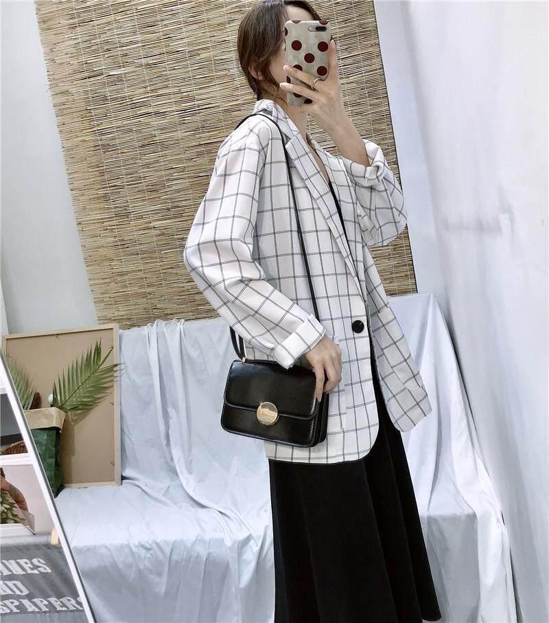 JYS Fashion Korean Style Women Checked Blazer Collection 500 - 8391