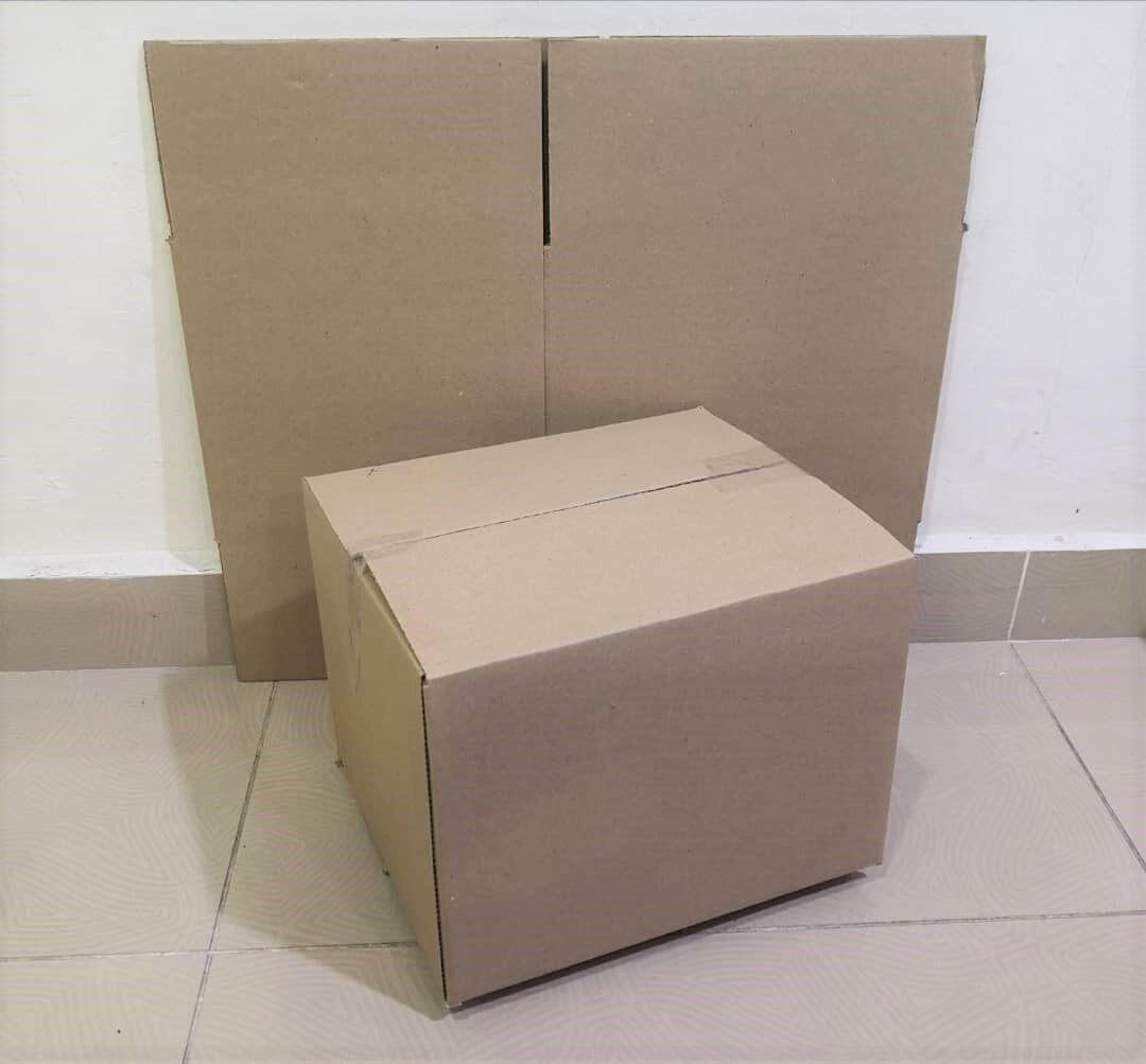 20pcs Plain Carton Boxes (L289 X W250 X H222mm)