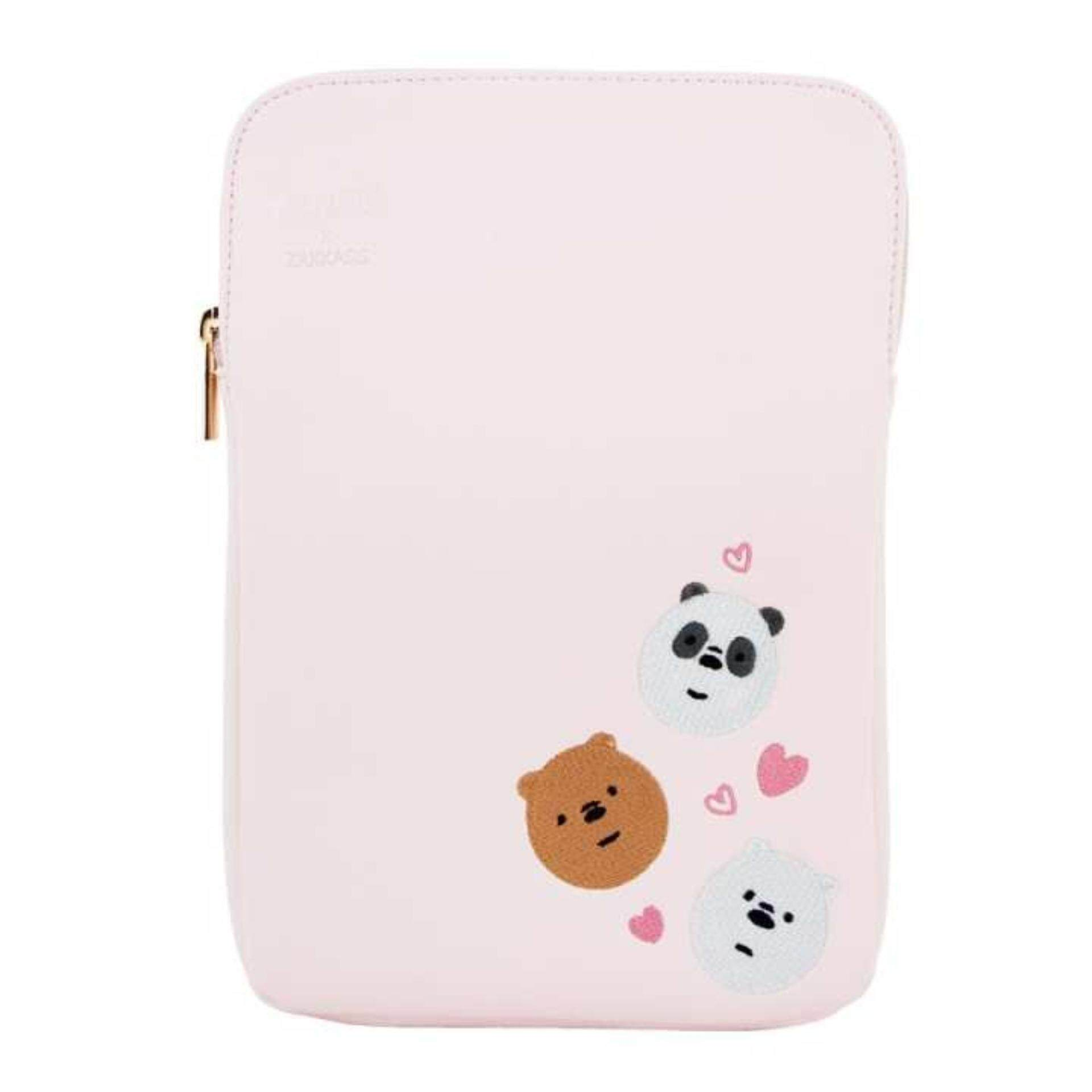 We Bare Bears 10 Inches Tablet Bag - Sakura Colour