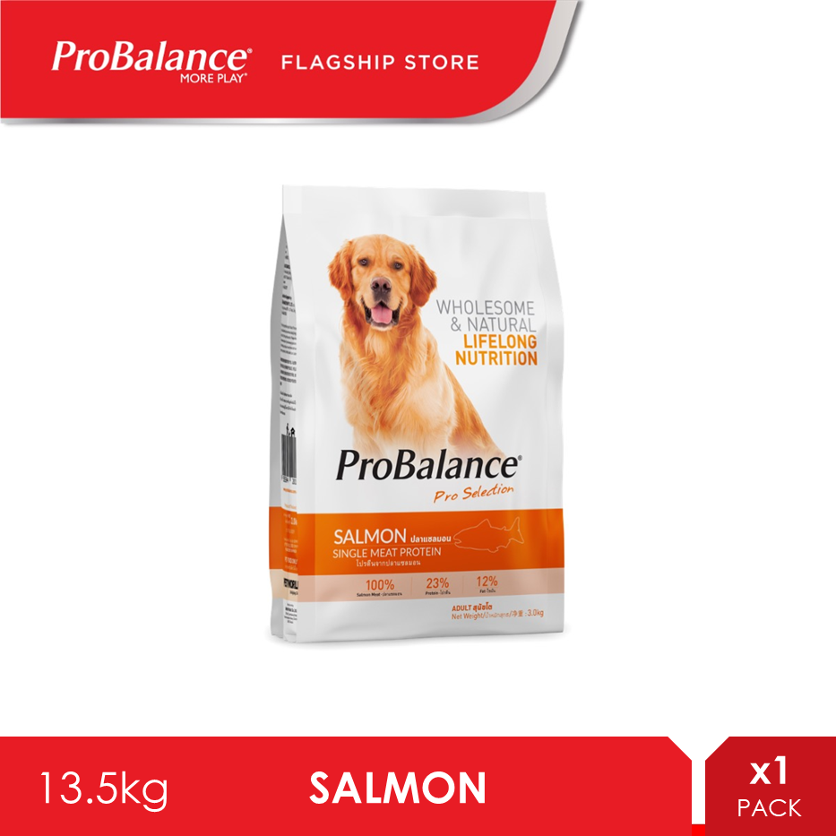 ProBalance 13.5KG Salmon Adult Dry Dog Food [makanan anjing]