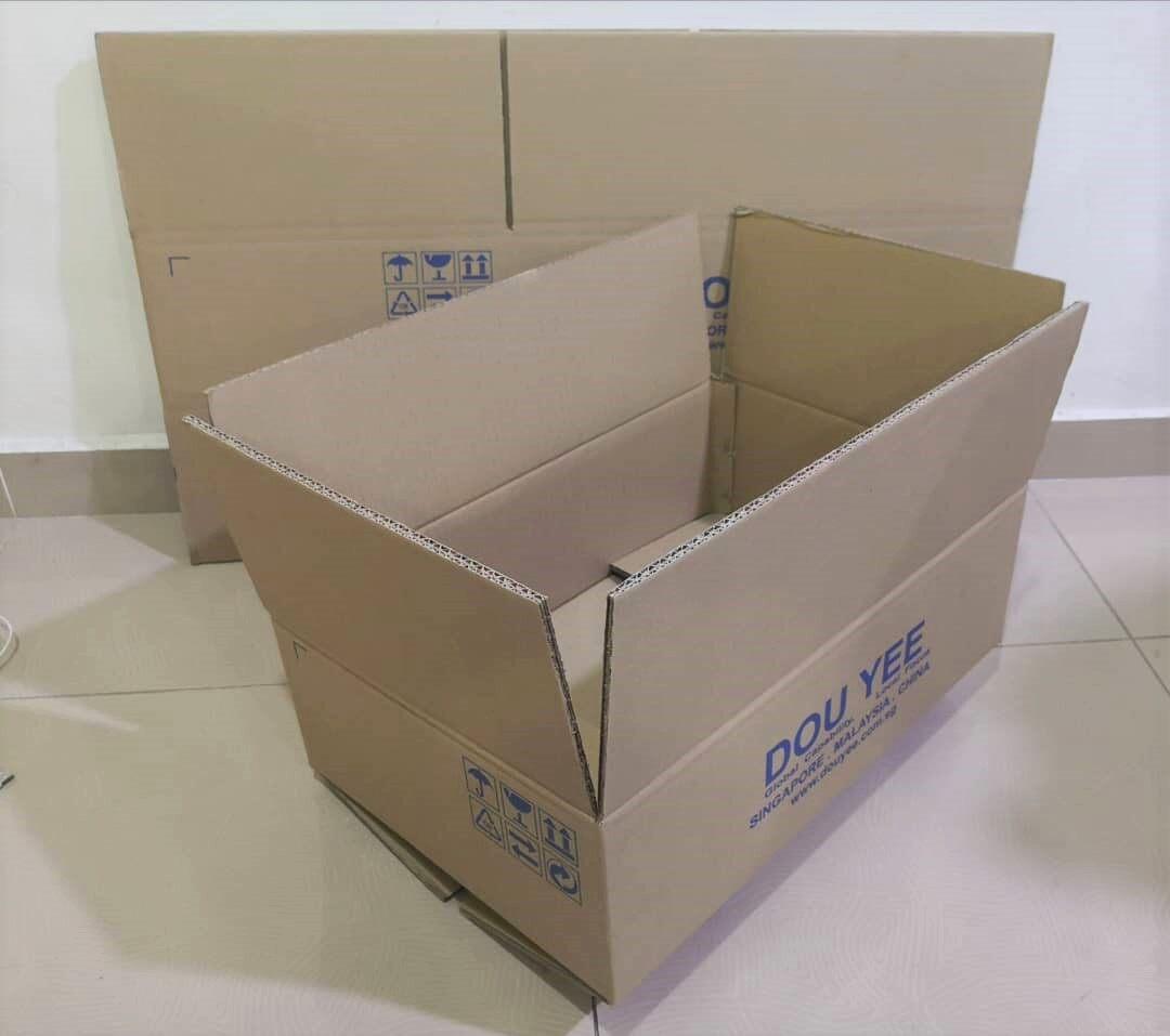 5pcs Printed Carton Boxes (L540 X W360X H170mm)
