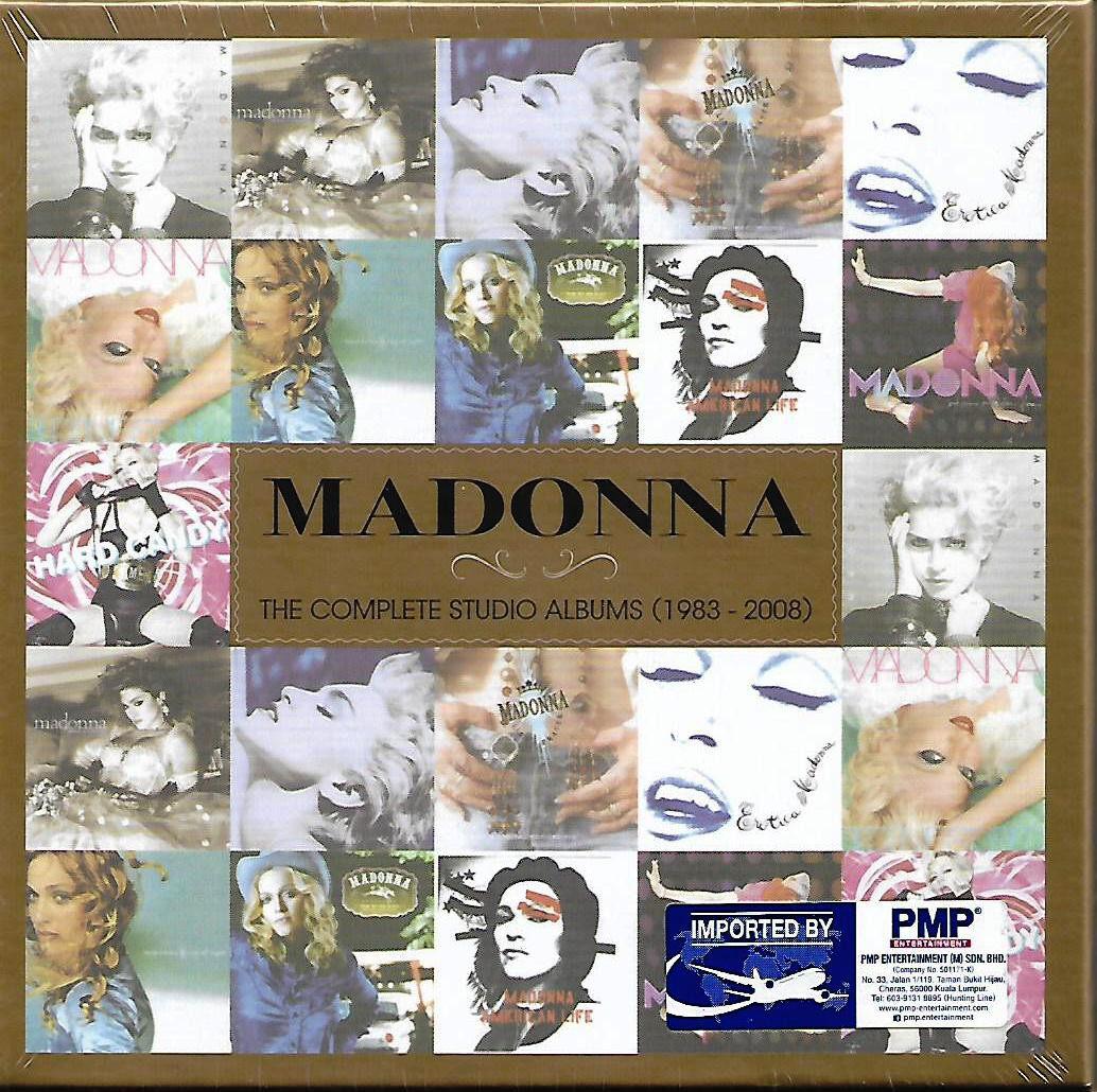 Madonna The Complete Studio Albums (1983-2008) 11 CD Box Set EU Pressed Imported CD