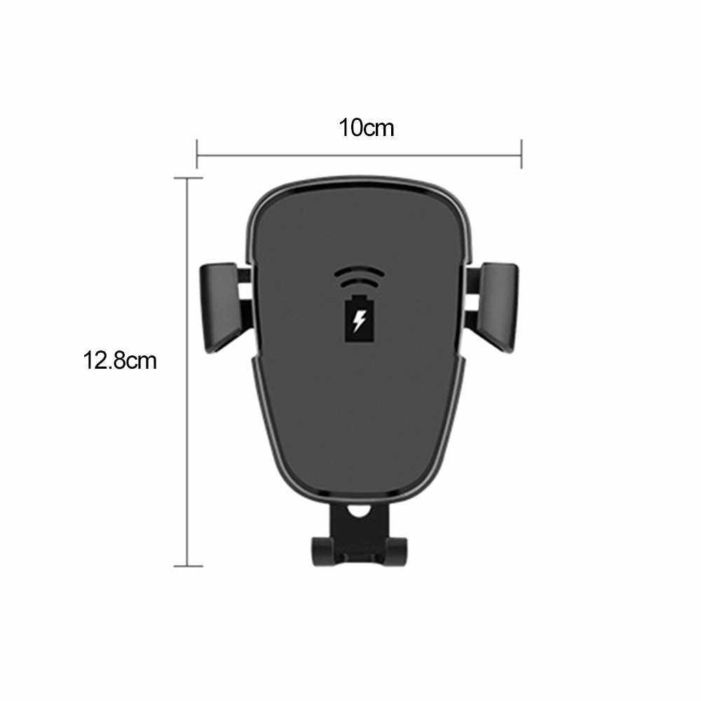 Best Selling QI Wireless Car Charger Phone Holder 10W 7.5W Quick Charge (Standard)
