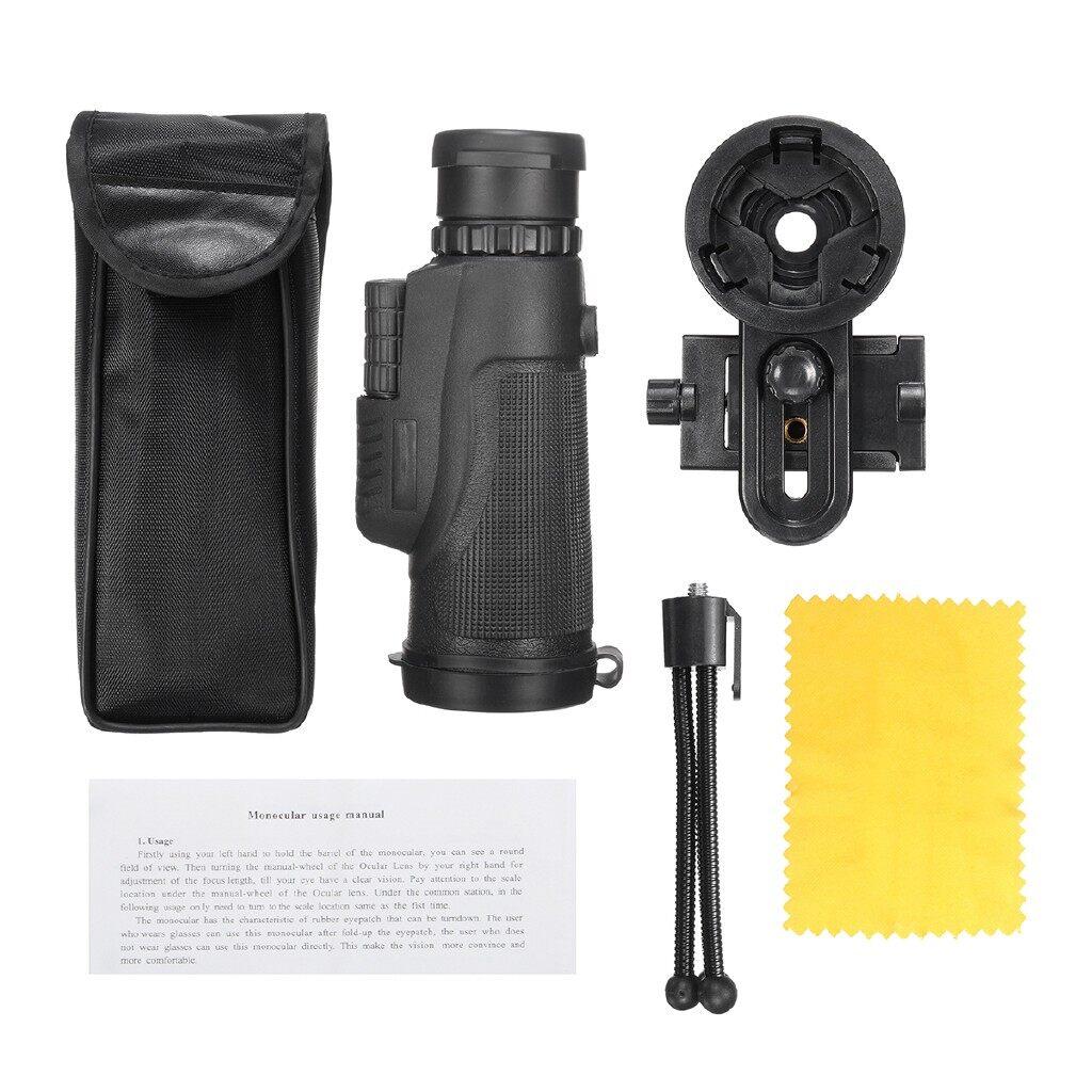 Gadgets - 12x50 Zoom Optical Hiking Phone Camera Lens Monocular Telescope + Clip + Tripod - Cool