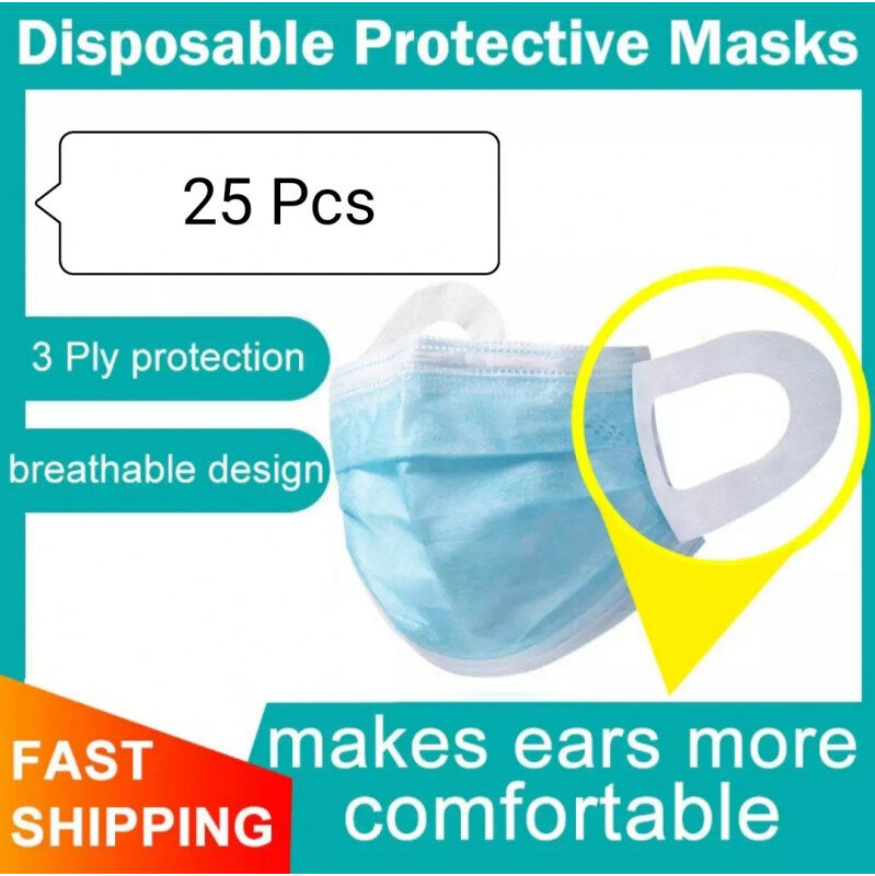 SURGICAL FACE MASK (BAND LOOP)