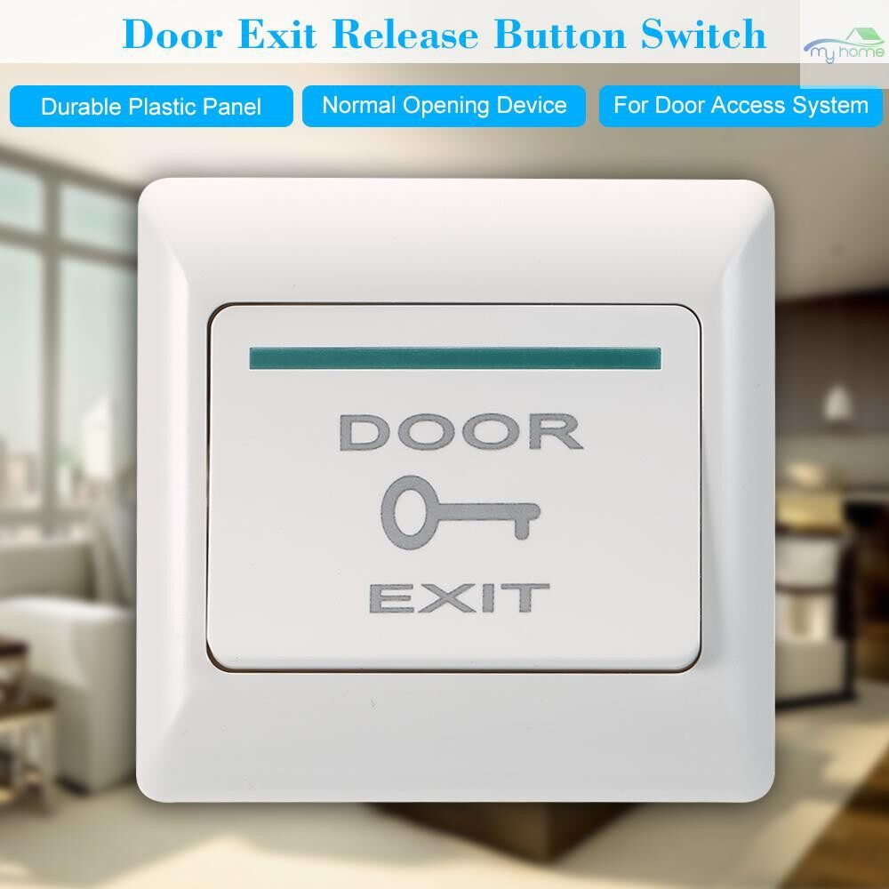 DIY Tools - Door Exit Release Button Switch For Electric Magnetic Door Access Control System - #