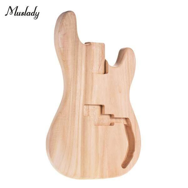 PB-T02 Chưa Hoàn Thành Electric Guitar Cơ Thể Gỗ Trống Guitar DIY Bộ Phận