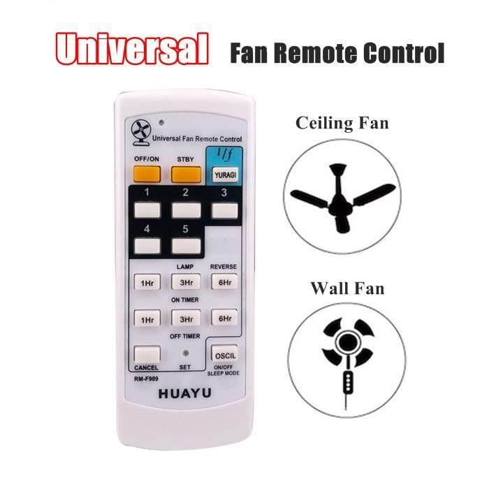 Universal Ceiling Fan Wall Fan Remote Control Replacement Huayu RM-F989