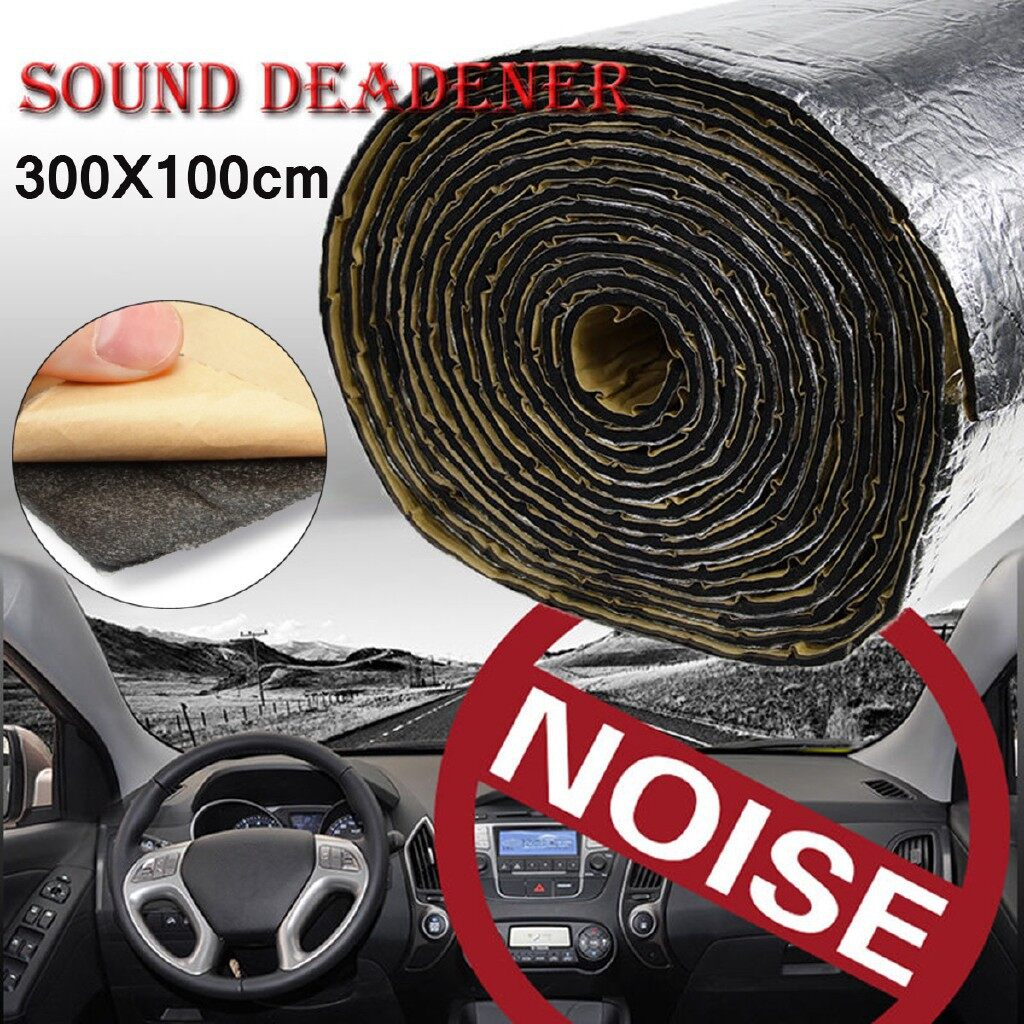 Floor Mats - Thermal Acoustic Sound Proofing Car Sound Proofing Deadening Mat - Car Accessories