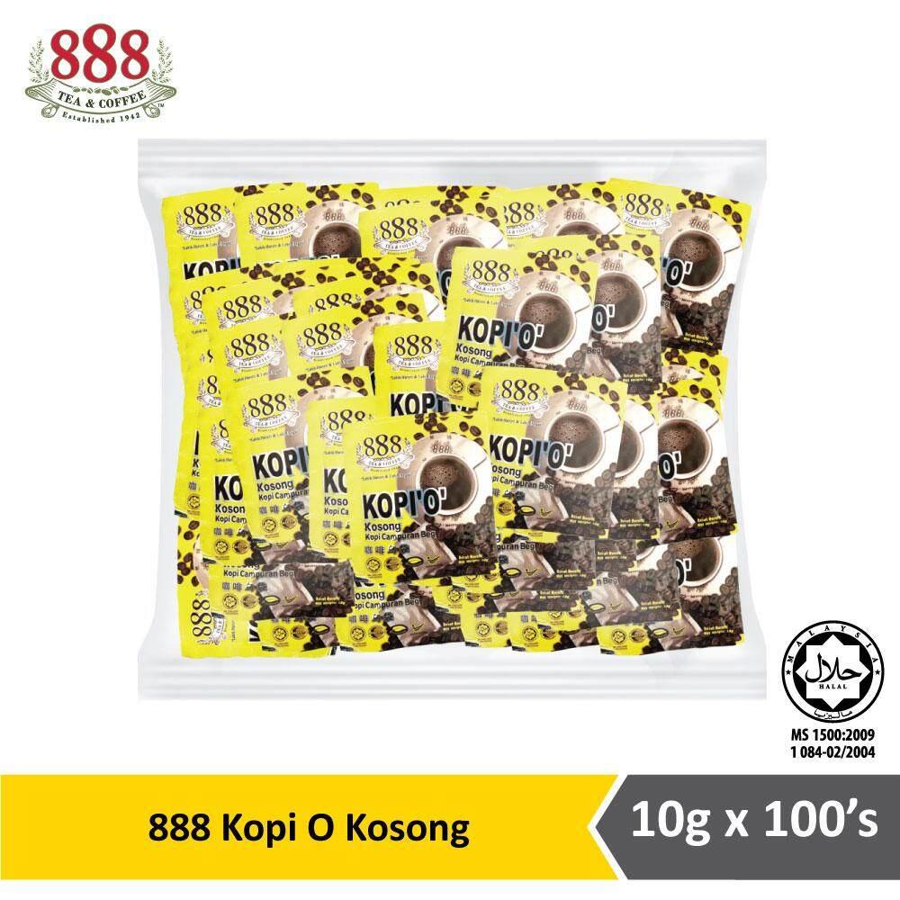 888 Kopi O Kosong (10g x 100s)