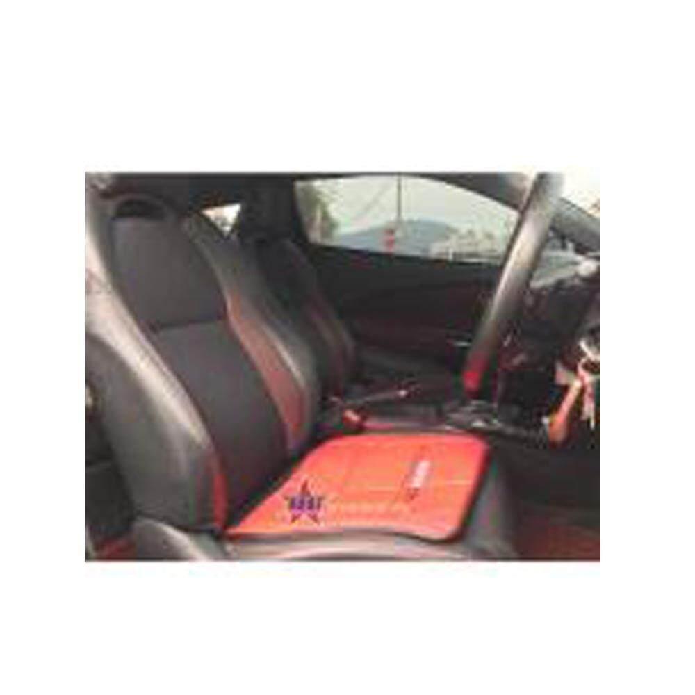 Broz MUGEN Black Red Beige Brown Marron Grey High Quality Anti Slip Grip Seat Mat Pad - 1PC