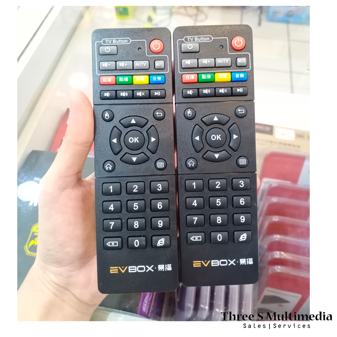 100 % ORIGINAL EVPAD REMOTE CONTROL OR REMOTE CONTROL WITH VOICE FUNCTION