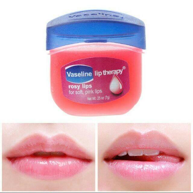 FREE GIFTLIP TERAPHY rossy lips Vaselinee
