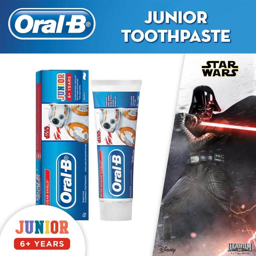 Oral-B Kids Starwars Junior 6+ Years Toothpaste 92g