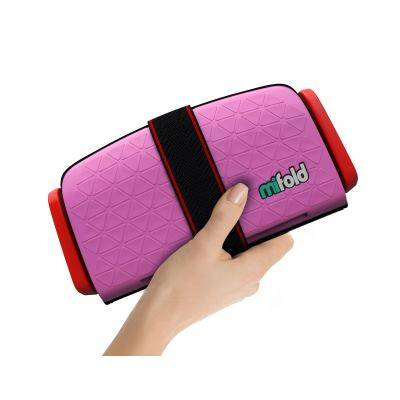 Mifold: Grab & Go Booster Seat - PERFECT PINK