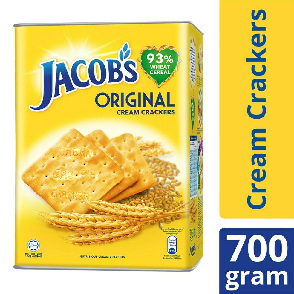 Jacob's Original Cream Cracker Tin (700g)